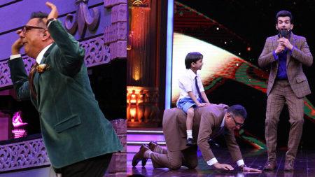 Boman Irani imitates contestants and turns Grandpa on Sabse Bada Kalakar!