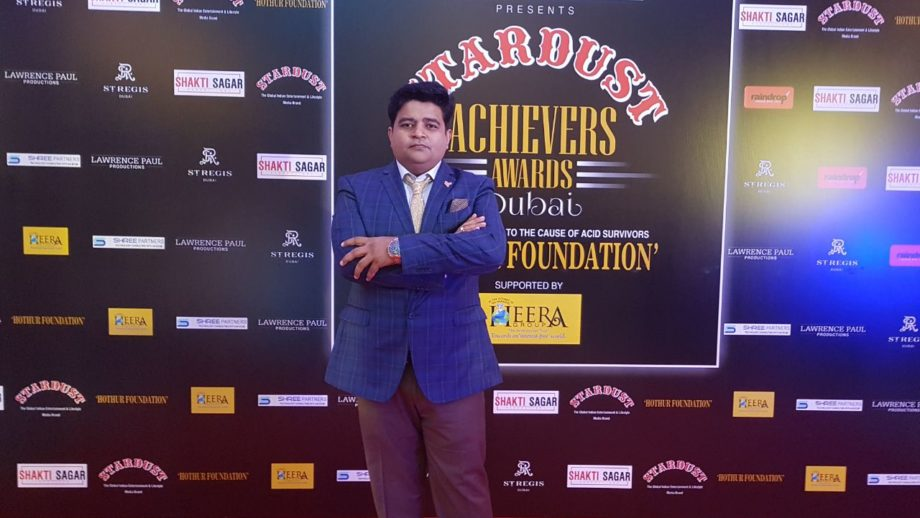 Global Advertisers MD Sanjeev Gupta wins big at Stardust Achievers Awards