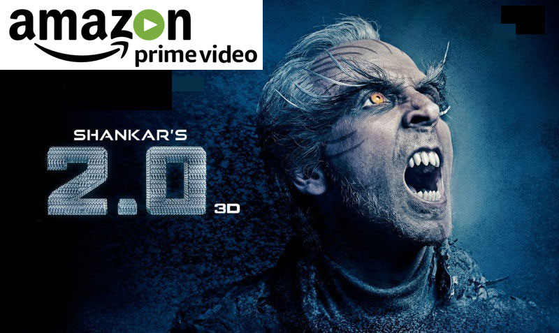 Amazon Prime Video India acquires exclusive streaming rights for Rajinikanth and Akshay starrer, 2.0