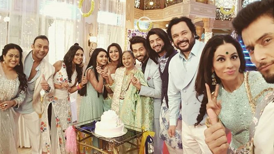 Anika, Gauri and Bhavya's special dance performance for Dadi in Ishqbaaaz