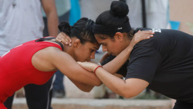 Babita Phogat and Badho come face-to-face in the akhada on &TV's Badho Bahu