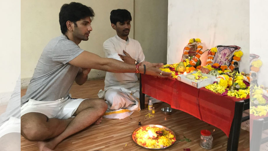 Rahul Sharma celebrates his birthday by offering prayers to lord Kaal Bhairav