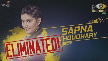 Sapna Choudhary evicted from Bigg Boss 11