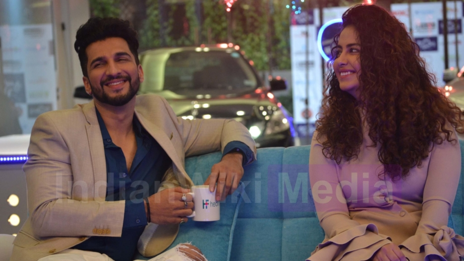 Showbiz With Vahbiz: Manish and Avika's fun moments 5