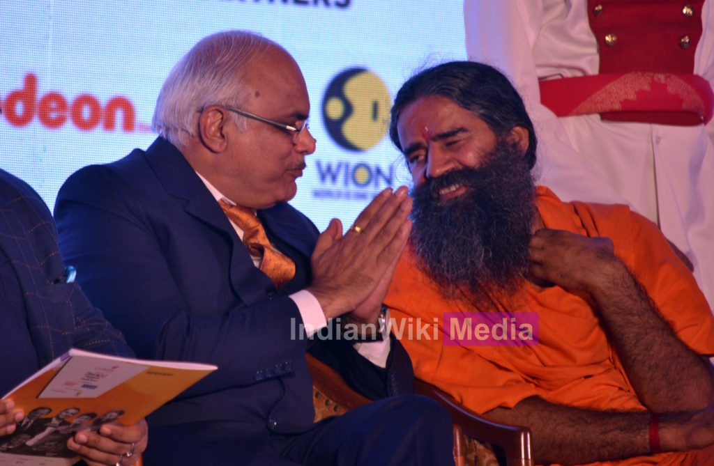 In Pics: Baba Ramdev wins Impact Person of The Year 2017 9