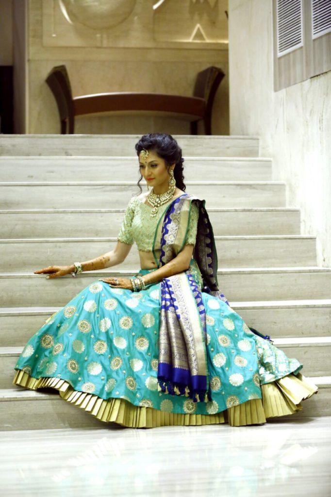 In pics: Suhani Dhanki's mehendi and sangeet 13
