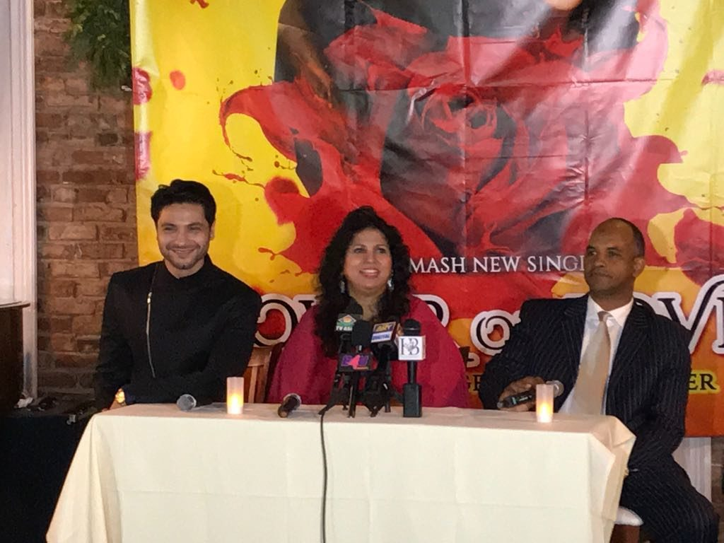Mishal Raheja's successful song launch in New York