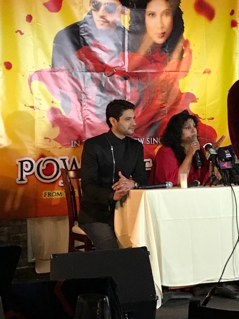 Mishal Raheja's successful song launch in New York 1