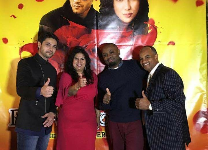 Mishal Raheja's successful song launch in New York 5