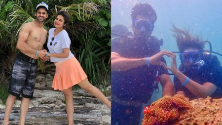 Vivek Dahiya gifts Divyanka Tripathi 'Nemo'on her birthday