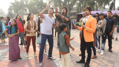 Makar Sankranti celebration on the sets of The Voice India Kids 2