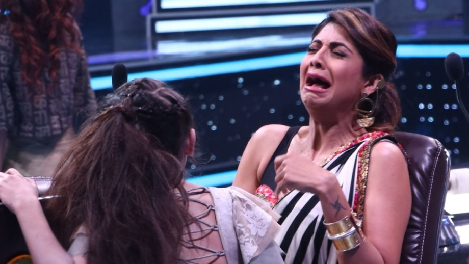When Shilpa Shetty Kundra took a hiding spot on a ladder in Super Dancer Chapter 2