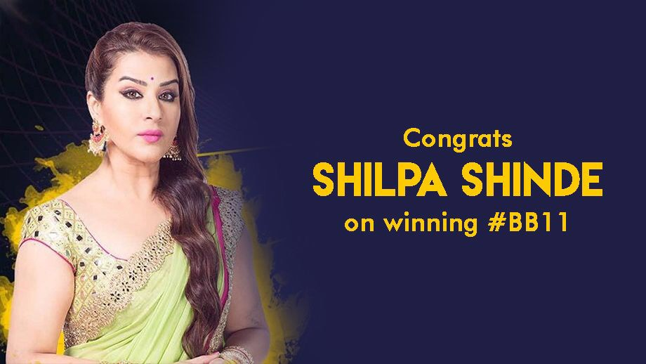 Resurrection and redemption: Shilpa Shinde wins Bigg Boss 11