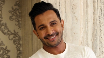 All smiles: Handsome and talented Terence Lewis