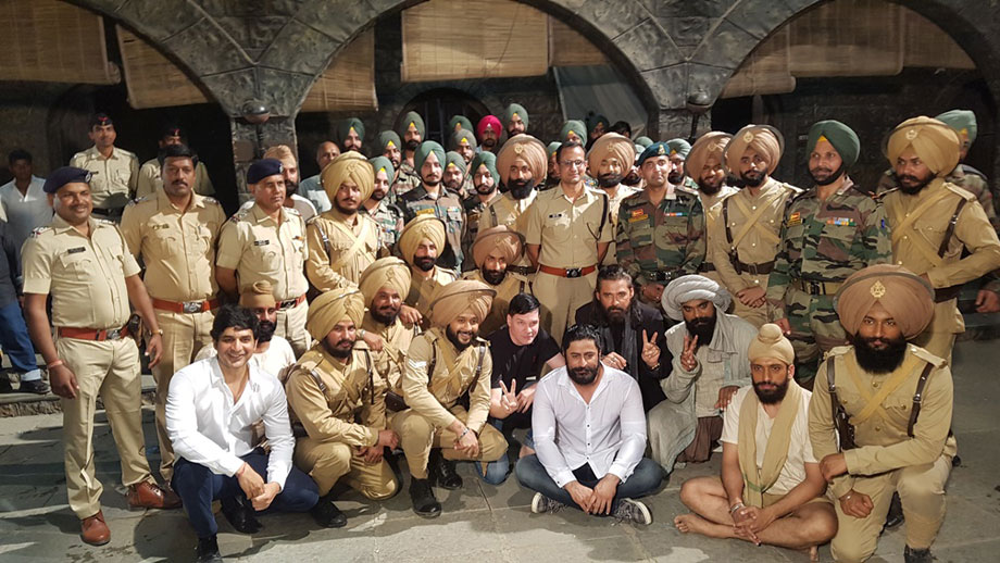 Team 21 Sarfarosh: Saragarhi 1897 celebrate Army day with the 7th Battalion of Sikh regiment of the Indian army