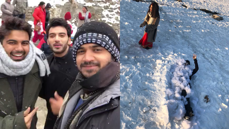 Ek Deewaana Tha team gets stuck in heavy snowfall in Manali