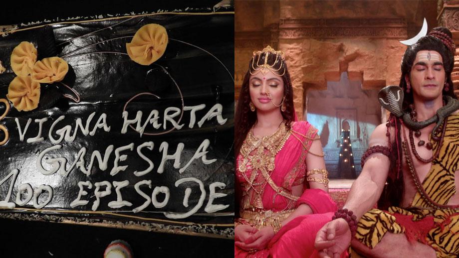 Vighnaharta Ganesh clocks in 100 Episodes !!!
