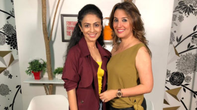 Perizaad Zorabian as the first guest on Manasi Parekh's brand new chat show!