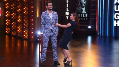 Vikas and Shilpa 'entertain' each other in Colors' Entertainment Ki Raat