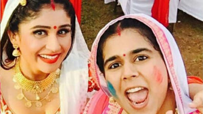 Holi celebration in &TV's Badho Bahu