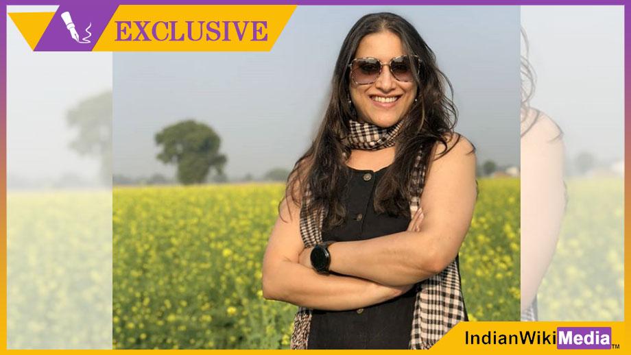 Bidisha Ghosh in Zee5's web-series Babbar ka Tabbar