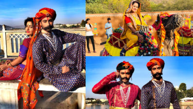 Cast and crew of &TV's Agnifera shoot in Udaipur