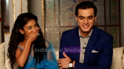 Candid moments of Kartik and Naira