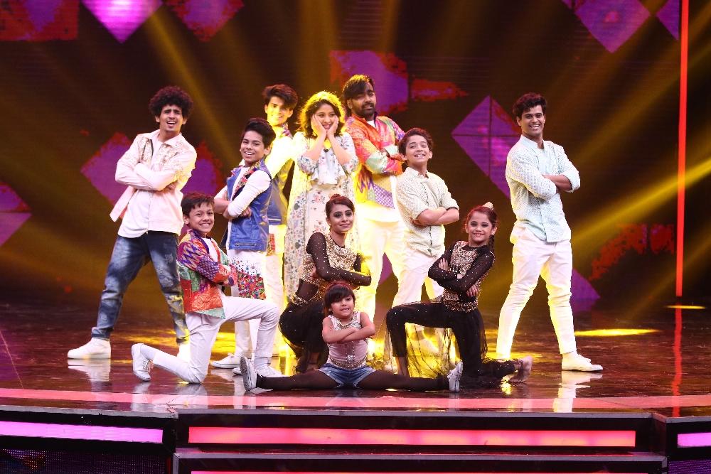 Super Dancer weekend episode with Ajay Devgn, Ileana D Cruz & Sunidhi Chauhan 7