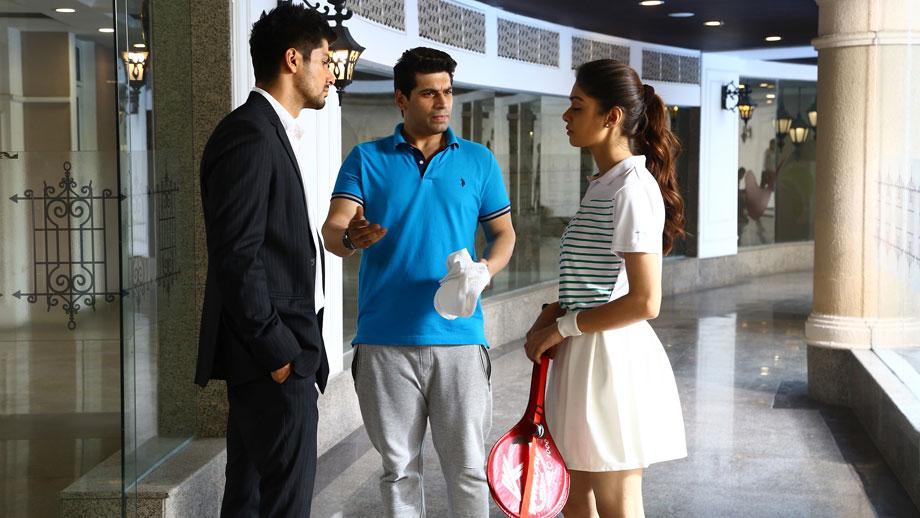 It's time to play badminton on Yeh Pyaar Nahi Toh Kya Hai