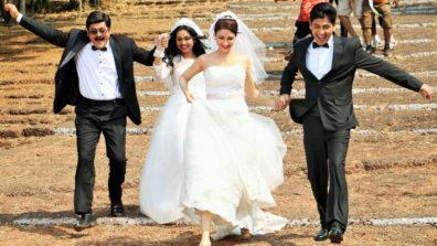 Angoori and Anita bhabhi dress up for a Church Wedding in Bhabiji Ghar Par Hai