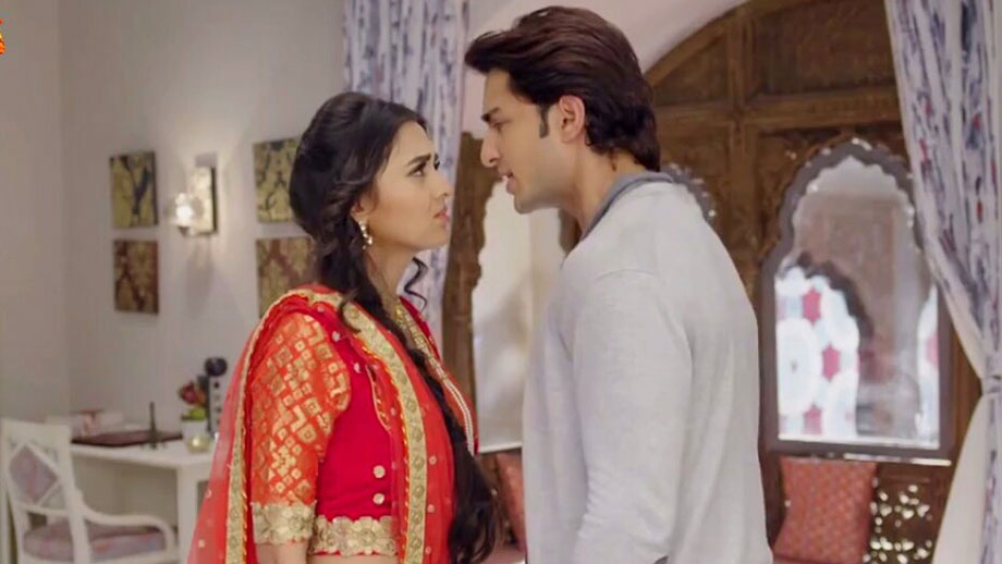 Ratan's rude behaviour to confuse Diya in Rishta Likhenge Hum Naya