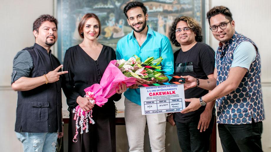 Mahurat of Esha Deol's Cakewalk in Mumbai