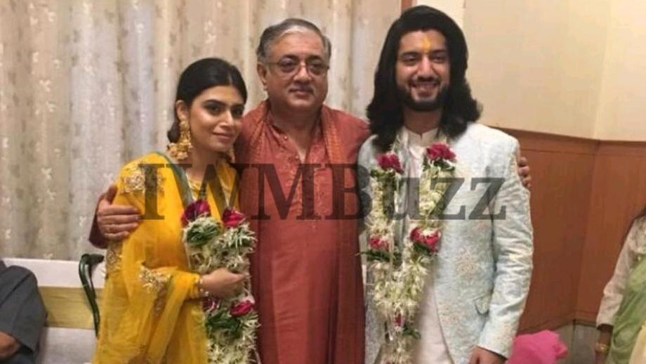 Kunal Jaisingh and Bharti Kumar's engagement pics