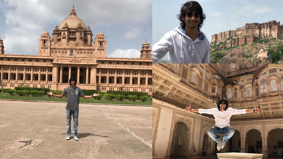 Shantanu Maheshwari's heritage trip to Jodhpur!