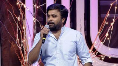 Actor-Director Sasikumar visits the sets of Zee Tamil's Sa Re Ga Ma Pa