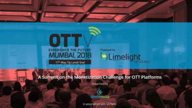 OTTv Mumbai 2018, the Monetization Challenge of OTT Platforms
