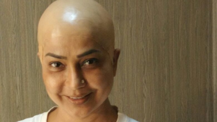 Shubhangi Latkar sports a bald look for her upcoming short