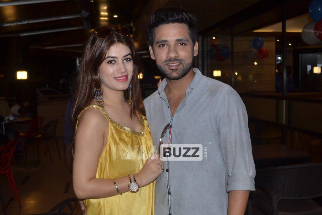 In pics: Puneesh Sharma and Bandagi Kalra's romantic moments 3