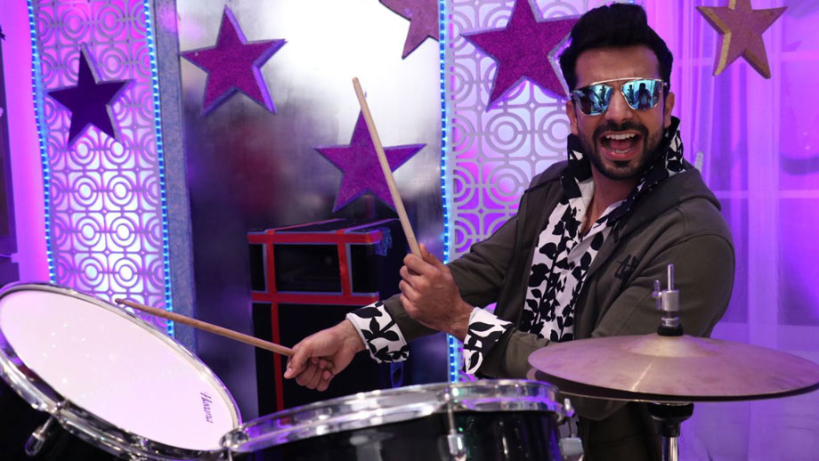 Zee TV's Kundali Bhagya star Manit Joura learns to play drums in 30 mins!