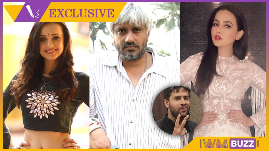 Sanaya Irani, Vikram Bhatt, Sana Khan in Vikram Bhatt's web-series, Zindabaad