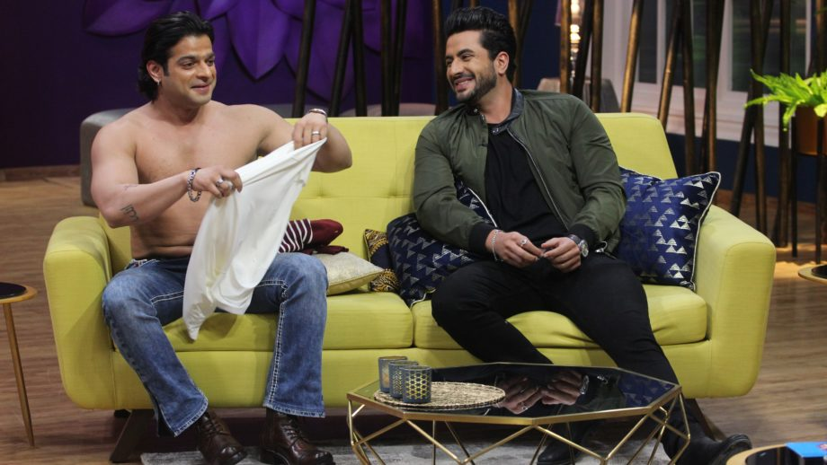 Karan Patel goes shirtless in JuzzBaat 2