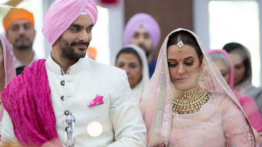Congrats: Neha Dhupia and Angad Bedi get married!