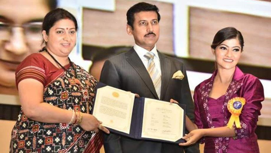 &TV's Bitti Businesswali lead actress Prakruti Mishra bags the National Award