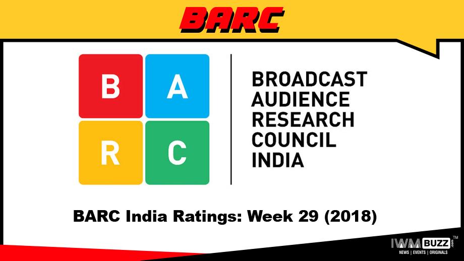BARC India Ratings: Week 29 (2018)
