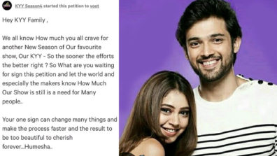 We are grateful and thankful for all the love and support fans shower on us: Parth Samthaan and Niti Taylor