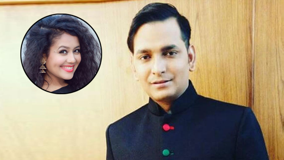 I have fallen in love with Indian Idol judge Neha Kakkar: Paritosh Tripathi