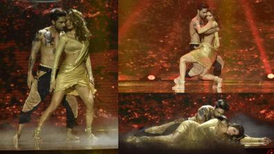 Esha Gupta & Salman Yusuff Khan's sizzling act on &TV's High Fever semi-finale