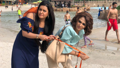 When Sucheta Khanna put Anjali on a leash