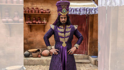 It gets quite tough to keep laughing as the evil Zafar in Aladdin: Aamir Dalvi 1