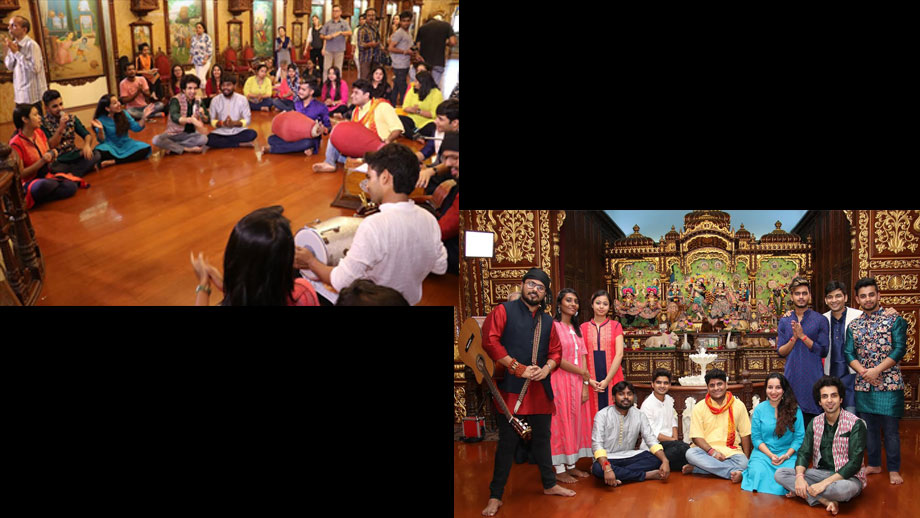 Indian Idol 10 contestants celebrate Janmashtami in ISKCON